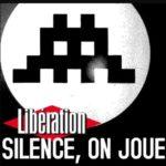copertina di silence on joue