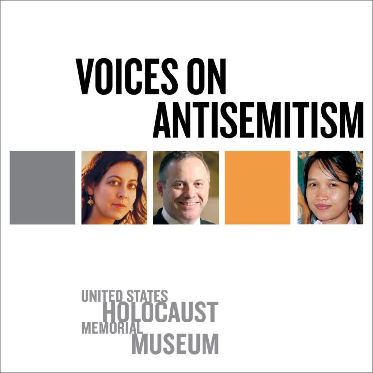 copertina di voices on antisemitism