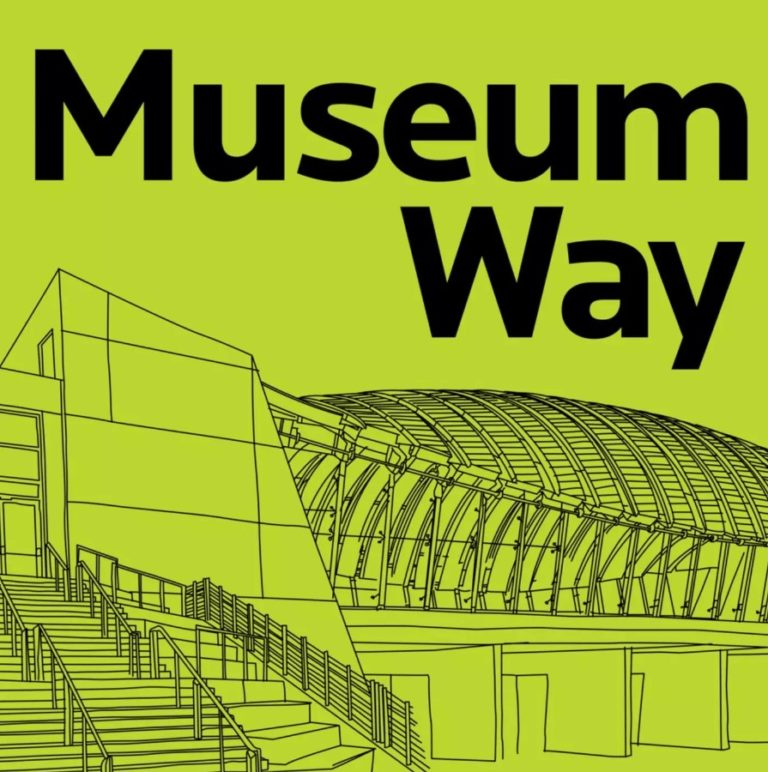 copertina di museum way