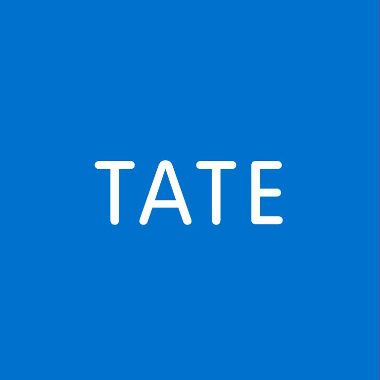 la copertina del podcast tate